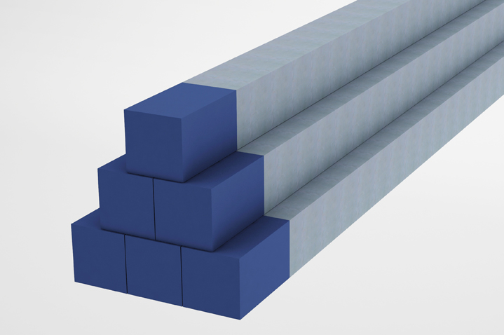 Bloco Manifold - barra quadrada