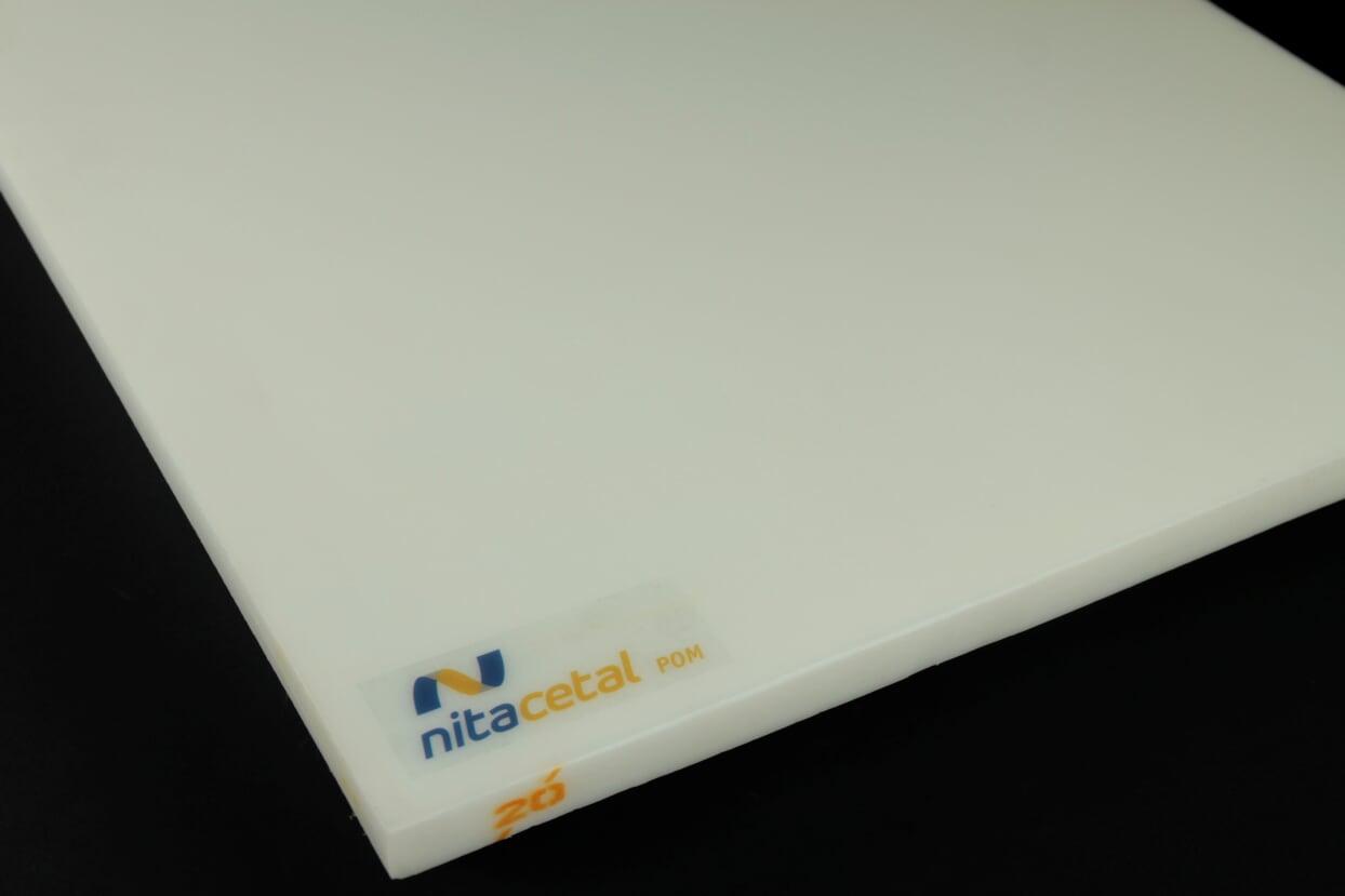 Chapa em Nylon Nitacetal